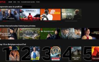 Reprendre avec le profil de (Netflix)